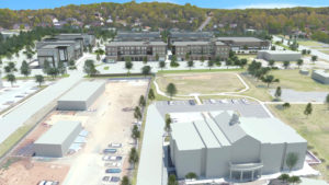 6 PUD 3D View - Nolensville Road In Front Town Hall - 155'